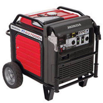Rent Honda EU7000is 7000 Watts Quiet Generator