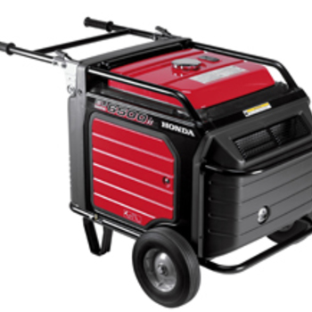 Rent Honda EU6500is 6500 Watts Quiet Generator