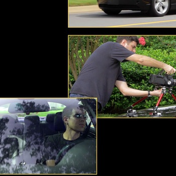 Rent Spider pod Car mount