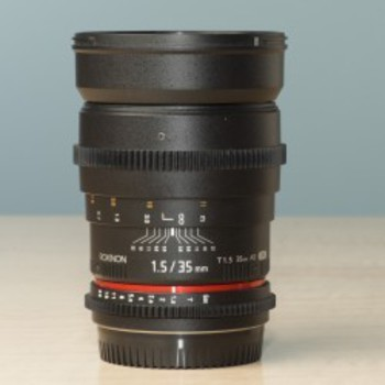 Rent Rokinon 35mm T1.5 Cine Lens