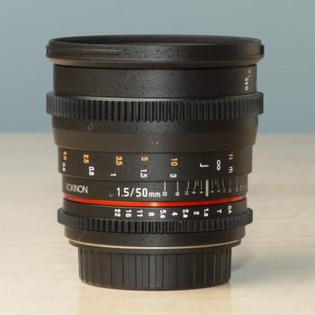 Rent Rokinon Cine Lens EF mount 50mm T/1.5