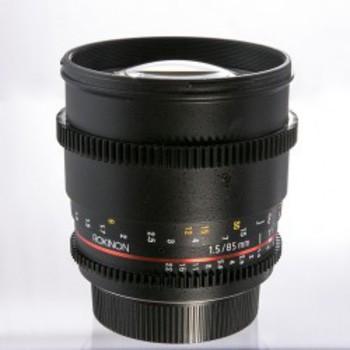 Rent Rokinon Cine Lens EF mount 85mm T/1.5