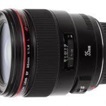 Rent Canon EF 35mm f/1.4 L USM