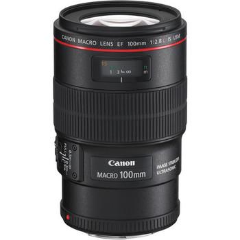 Rent Canon EF Macro 100mm f/2.8 L IS USM