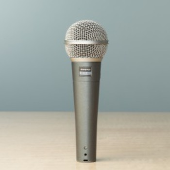 Rent Shure SM58-50A Vocal Microphone