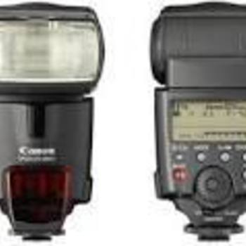 Rent Canon 580EXII Speedlite