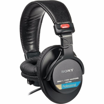Rent stereo headphones (Sony MDR-7506) ($5)
