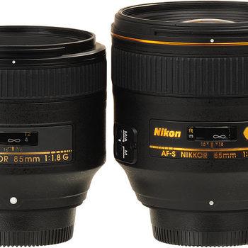 Rent Nikon Prime lens kit (24mm AIS f/2, 35mm AF-D f/2, 50mm  AF-D f/1.4, 85mm f/1.8 AF-D)