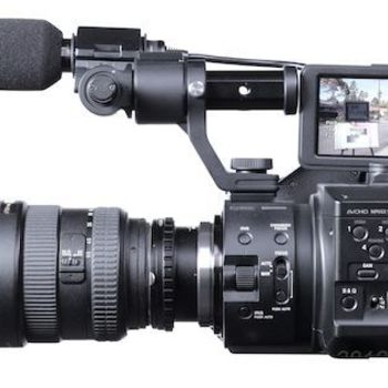 Rent 2 Sony FS100 Cameras with Canon and Nikon lens adapters