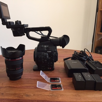 Rent Canon C300 EF w/ 24-105mm f4 IS L