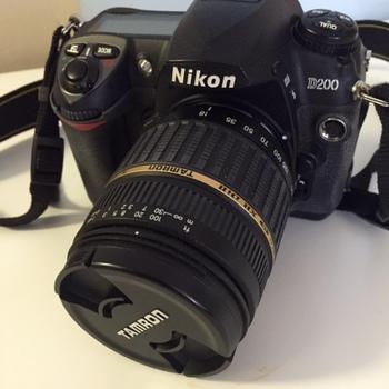 Rent Nikon D200 w Tamron zoom lens 18-200 f 3.5/6.3