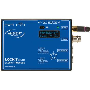 Rent Ambient Lockit ACL 204 Timecode Sync