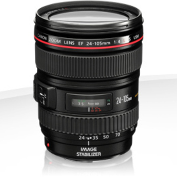 Rent Canon 24-105 f/4 L Series IS lens