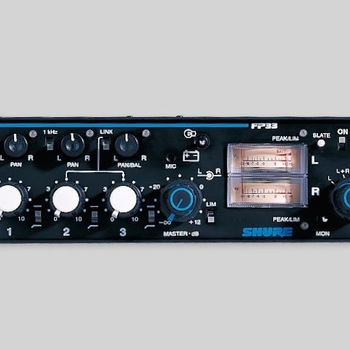 Rent Shure FP33 3-Channel Stereo Field Mixer