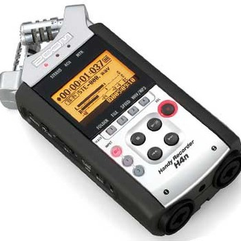 Rent Zoom H4n 4-Channel Digital Audio Recorder
