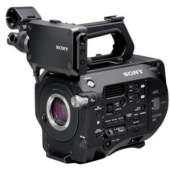 Rent PXW FS7 4k Digital Cinema Camera with Metabones EF