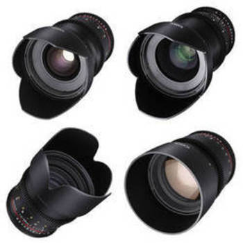 Rent Rokinon Prime Cine Lenses 24mm, 35mm, 50mm, 85mm