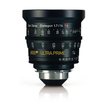 Rent 14mm Arri Ultra Prime Distagon (T1.9)
