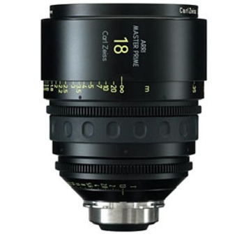 Rent Arri Zeiss 18mm T1.3 Master Prime Lens