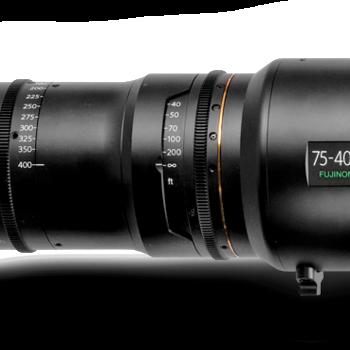 Rent 75-400 Fujinon Premier PL Zoom Lens (T2.8)