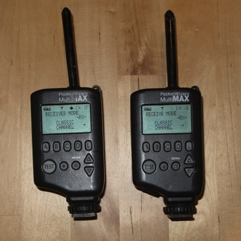 Rent Pair of Pocket Wizard MultiMax Transmitters