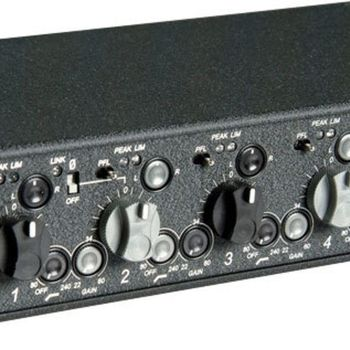 Rent Sound Devices 442 - 4 channel mixer with direct outs
