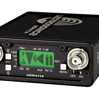 Rent Lectrosonics 411a wireless Receiver (blk 26)