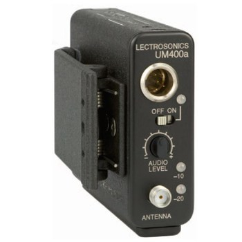 Rent Lectrosonics UM400A transmitter (blk 24)