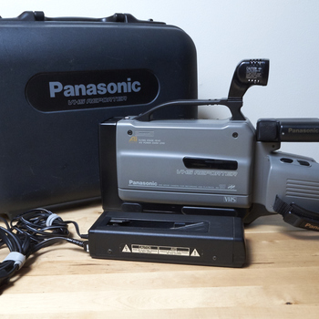 Rent Panasonic VHS Camcorder & Digital Converter