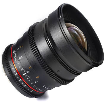 Rent Rokinon 24mm T1.5 Cine Lens in Nikon Mount