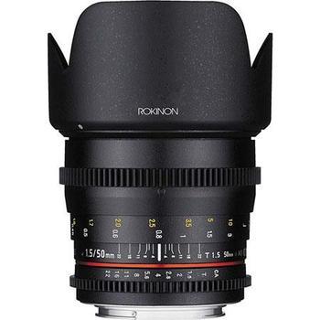Rent Rokinon / Samyang 50mm T1.5 Cine Lens