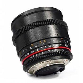 Rent Rokinon / Samyang 85mm T1.5 Cine Lens