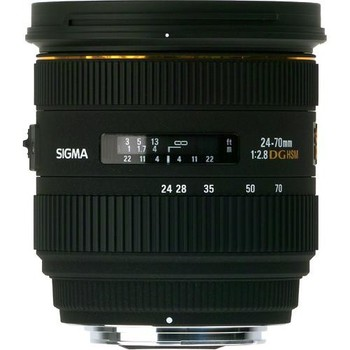 Rent Sigma 24-70mm f/2.8 IF EX DG HSM Lens for Canon EOS