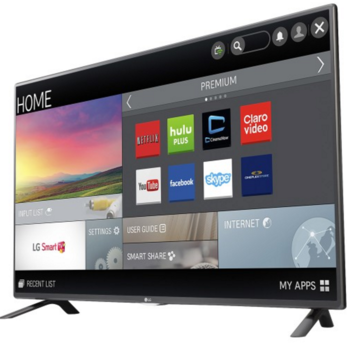 "Rent LG 50"" Smart LED TV"