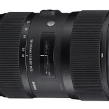 Rent Sigma 18-35mm f/1.8 DC HSM Art Lens