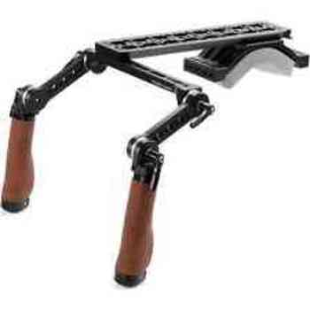 Rent Wooden Camera Premium Shoulder Rig (C300 Quick Release optional)