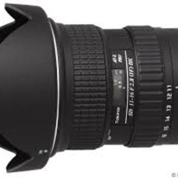 Rent Tokina 11-16mm f2.8 Lens (EF Mount)