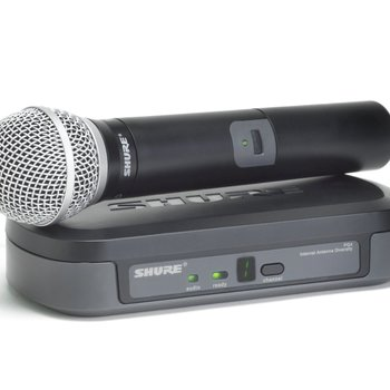 Rent Shure PG24/PG58 Wireless Vocal System