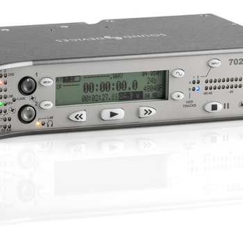 Rent Sound Devices 702T 2-Channel Portable Audio Recorder with Timecode
