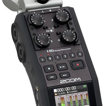 Rent Zoom H6 Handy Recorder