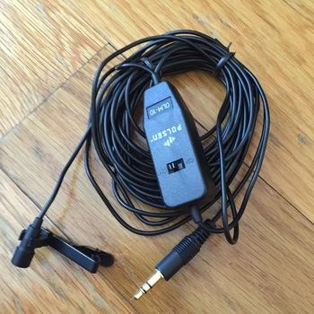 Rent Polsen Omnidirectional Lavalier Microphone OLM-10