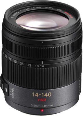 Panasonic lumix g vario hd 14 140mm f4 5.8 asph mega ois
