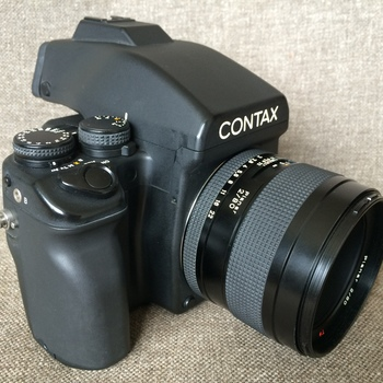 Rent Contax 645AF Film Camera with Zeiss Lens