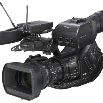 Rent Sony Sony EX3 HD Camcorder with .8x wide angle adaptor