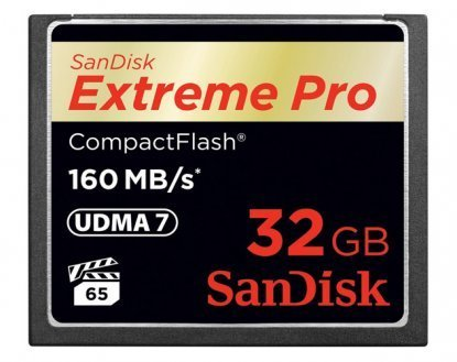 Sandisk extreme pro cf memory card