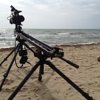 Rent KesslerCrane  5' Cineslider - w/ ElektraDRIVE motors (200/500 series) & Basic Controller