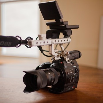 Rent Canon C300 Kit + FREE DELIVERY! Includes Lens + Support + Audio