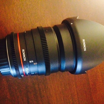 Rent Rokinon Cine Lens 24mm EF mount (canon)