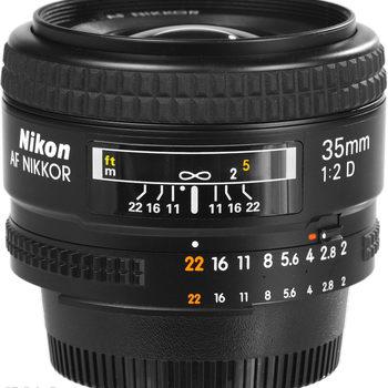 Rent Nikon  35mm f2 lens