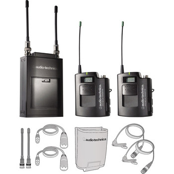 Rent Audio-Technica ATW-1821 Dual Wireless Microphone System